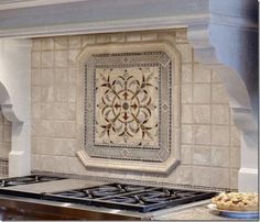 Decorative Tile Medallions Medallion Really Like The Corners Of The Rail Surrounding The