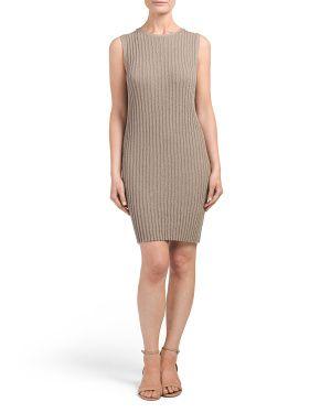 Ribbed Shell Dress