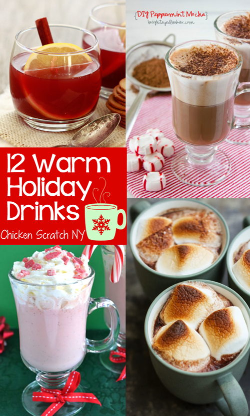 12 Warm You Up Winter Holiday Drink Recipes Totally Want To Try The Broiled