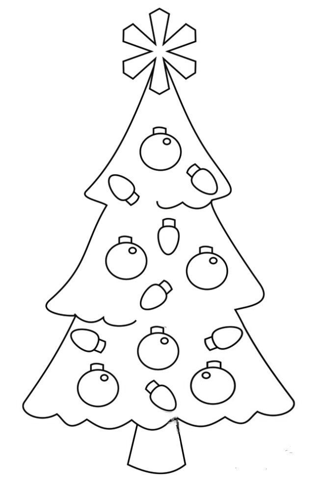 Christmas Tree Coloring Page For Kids Kids Christmas Coloring Pages Christmas Coloring Pages Christmas Colors