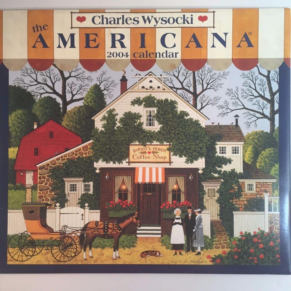 Charles Wysocki Calendar Art Prints Americana New England Country