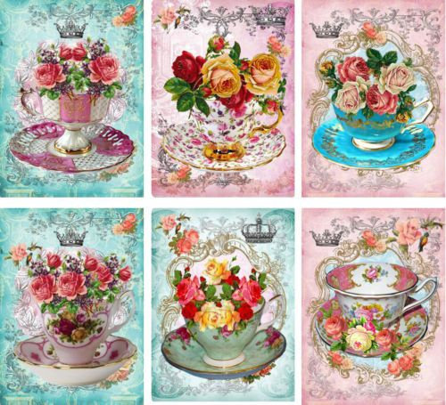 Buy vintage tea cups and saucers and get free shipping