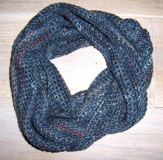 Einen Loop-Schal in Rekordzeit häkeln - auch für Ungeübte | Schals ...