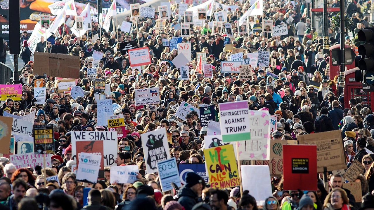 I made this video to celebrate all those who marched in the Women's March I #celebrate women, diversity, love, unity, America, #EQUALITY