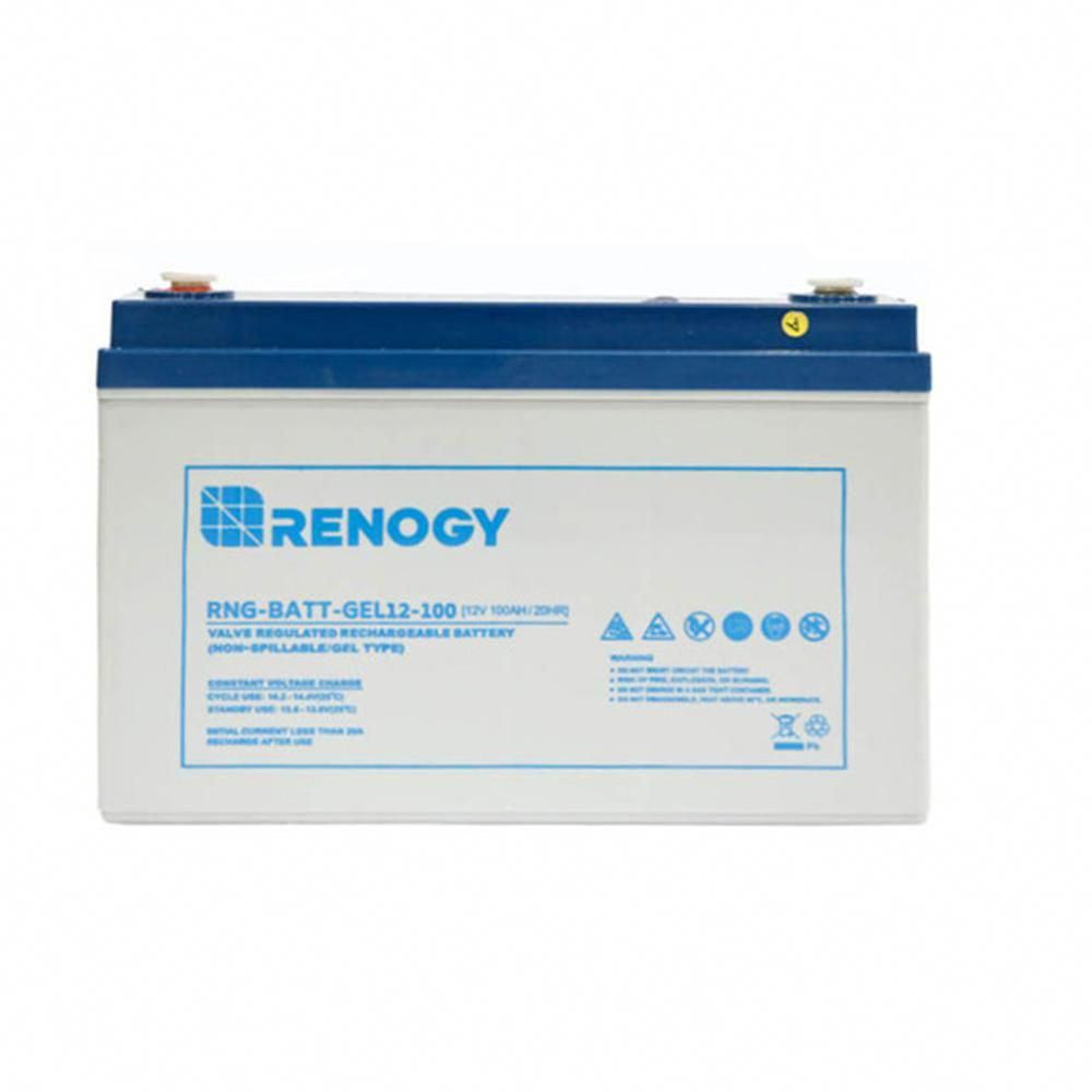 Renogy 12 Volt 100ah Deep Cycle Pure Gel Battery For Solar Panels Solarpanels Solarenergy Solarpower Solargenerator Solarpan In 2020 Solar Solar Power Solar Generator
