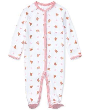 598487ace Ralph Lauren Baby Girls Print Coverall in 2019