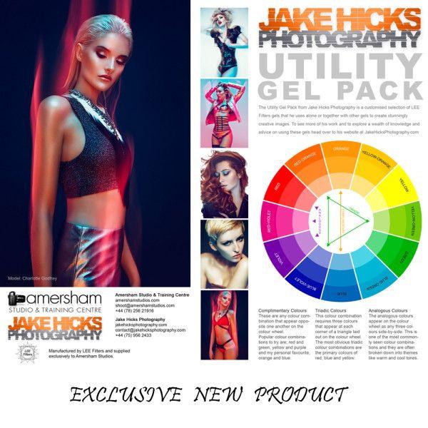 Lee Filters Utility Colour Gel Pack