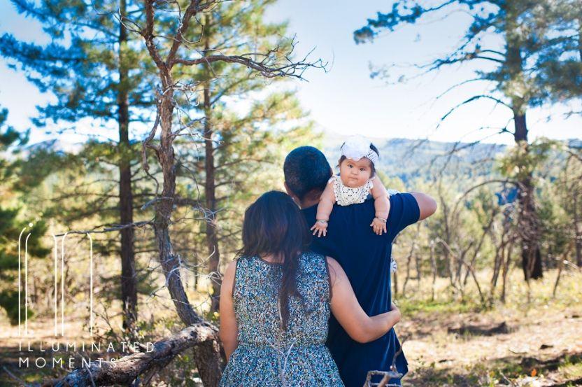 Morning Mountain Photos   Blanding, UT Family Photographer #familyphotos #cuteposes