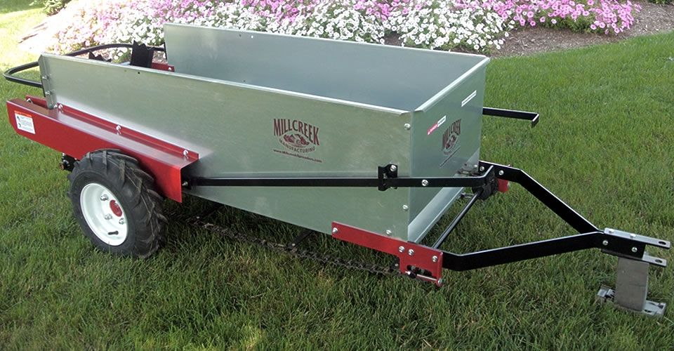 Horse Manure Spreader : Small horse manure spreader affordable equine