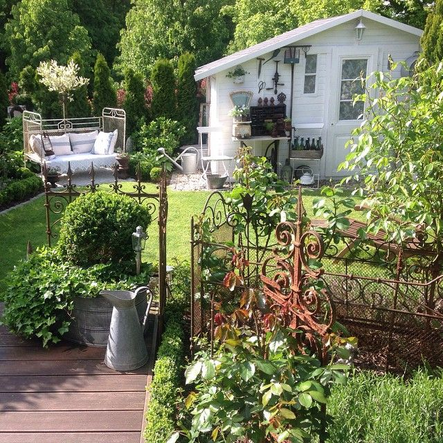 Vintage Garten mein kleiner shabby garten garten shabby vintage frankreich