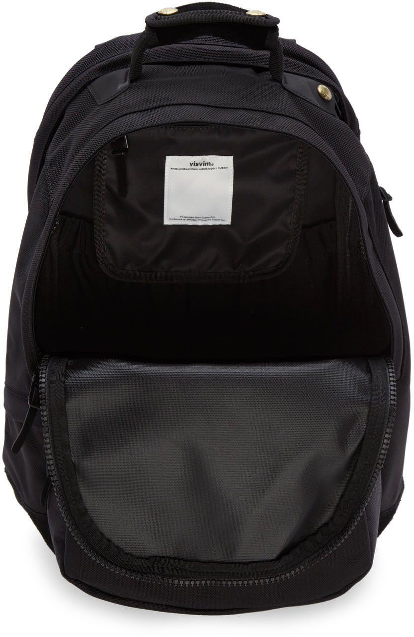 6b3510428 Visvim - Black Ballistic 22L Backpack | Mens Bag Research ...