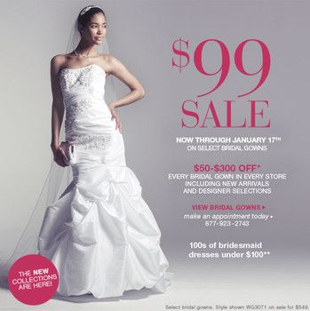 David S Bridal 99 Wedding Dresses David S Bridal Select Wedding Gowns Only 99 David S Bridal Simply Wedding Dress Wedding Dresses Wedding Dress Styles