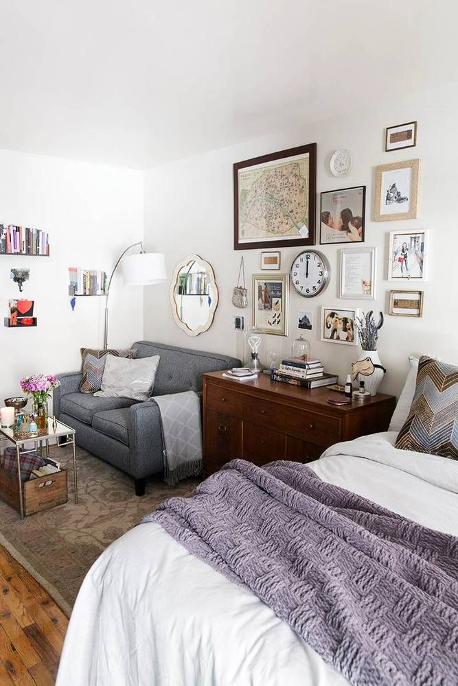 decorating studio apartments. See More Images From 300 Square Feet  And How An NYC Editor Makes The Most Of It On Domino Com