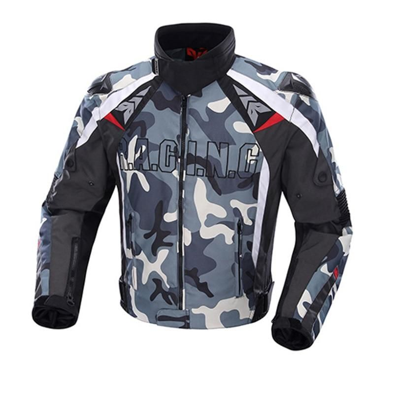 Motorcycle Protective Gear Camouflage Cold-proof Knight Riding Jacket