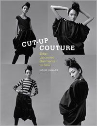 t-shirt ruffled collar inside - Cut-Up Couture: Edgy Upcycled Garments to Sew - Interweave