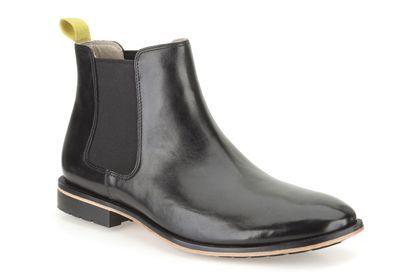 Clarks Gatley Top - Cuir noir - Boots classiques homme   Clarks ... b610c37f1250