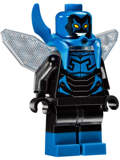 Lego Blue Beetle Minifigure sh278 from Lego DC Comics set 76054