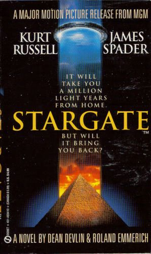 Stargate. Cheap drug store book based on the movie.