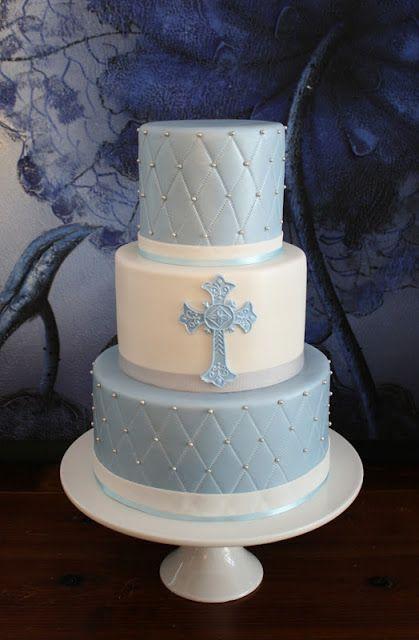 Sandy S Cakes Baptism Cake First Communion Cakes Boy Communion