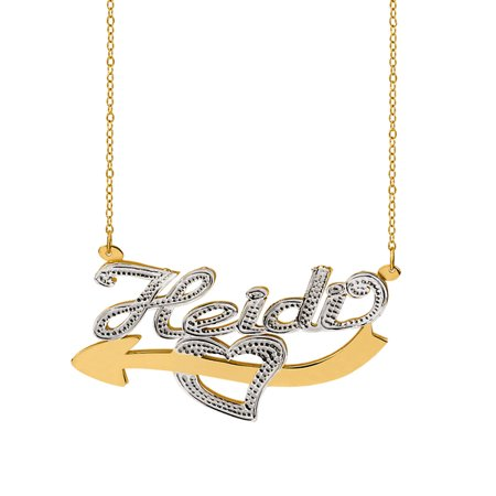 Jewelry Gold Plated Necklace Name Necklace Necklace