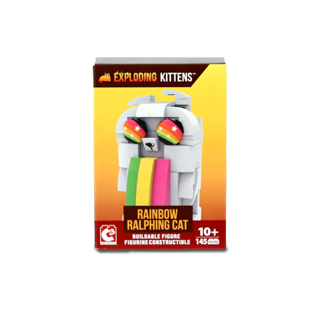 Exploding Kittens Collector Construction Buildable Figure