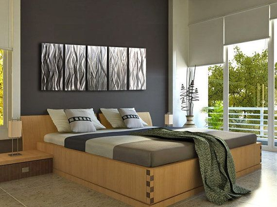 die besten 25 moderner dekor f r schlafzimmer ideen auf pinterest moderne schlafzimmer. Black Bedroom Furniture Sets. Home Design Ideas