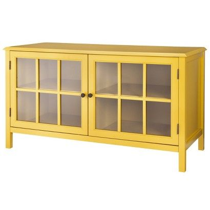 Superbe Threshold™ Windham TV Stands   I Like The Yellow, But It May Not Match What  We Have Already. The Blue May Be Better, Or Possibly White?