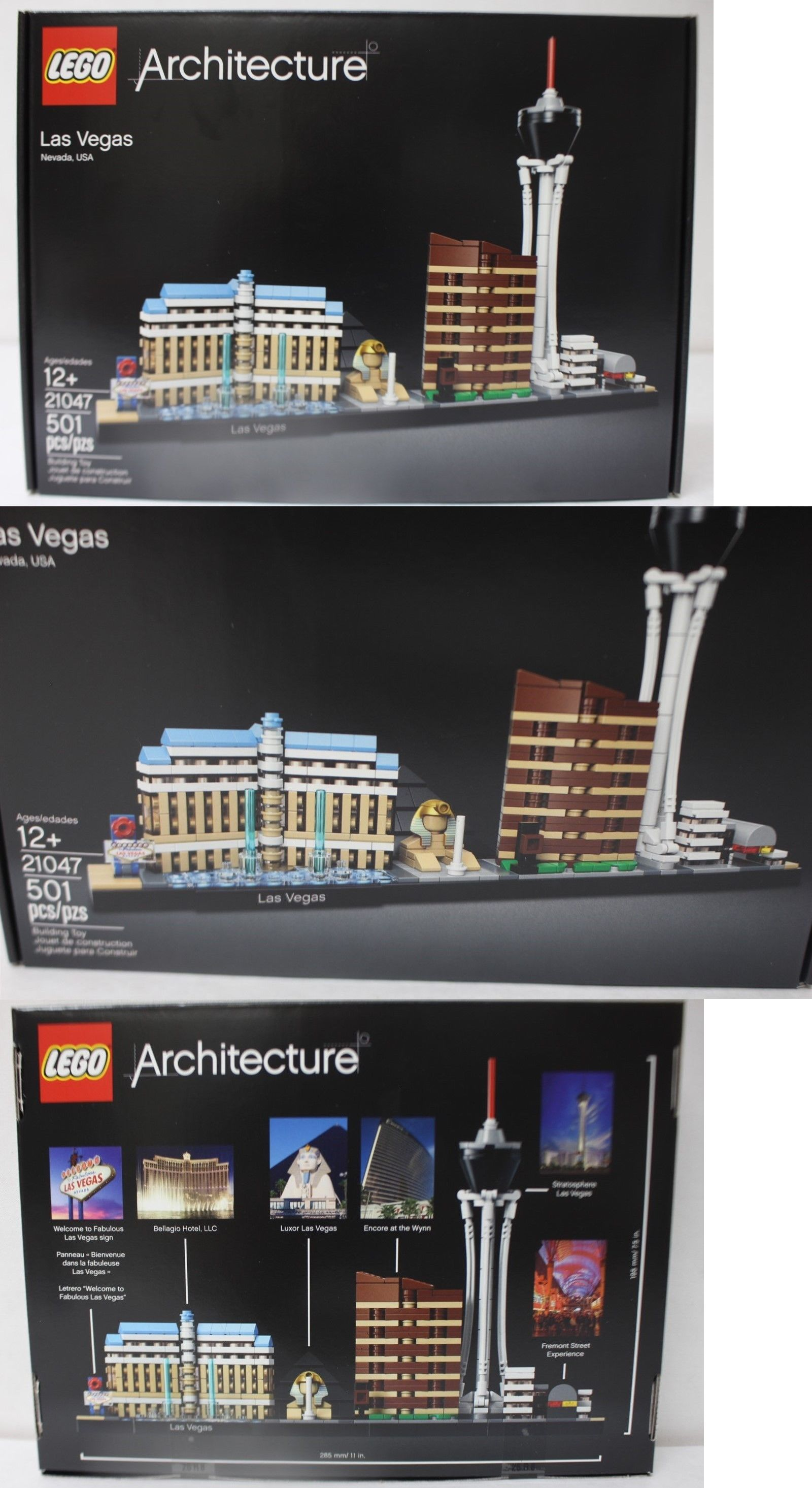 Lego 21047 Architecture Las Vegas 501pcs New In Hand Free Shipping Lego Lego Building Building Toys