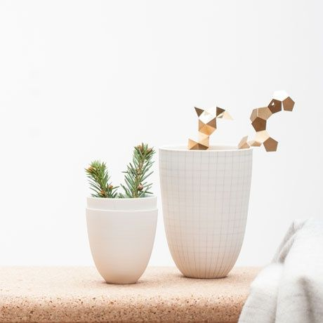 Squares Porcelain Vase by Schoemig Porzellan | MONOQI #bestofdesign #geschenkideen