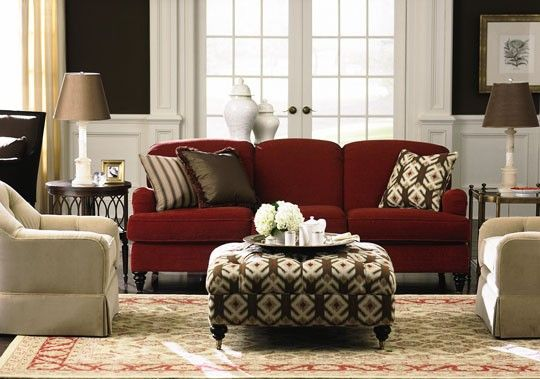 Fine Instead Of Entire Living Room Suite In Red Or Rust Just The Ncnpc Chair Design For Home Ncnpcorg