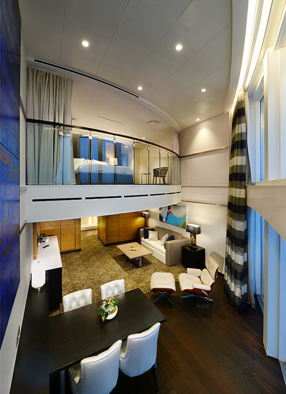 Anthem Of The Seas Owner S Loft Suite Royalcaribbean Anthem Of The Seas Theme Cruises Royal Caribbean Cruise Ship