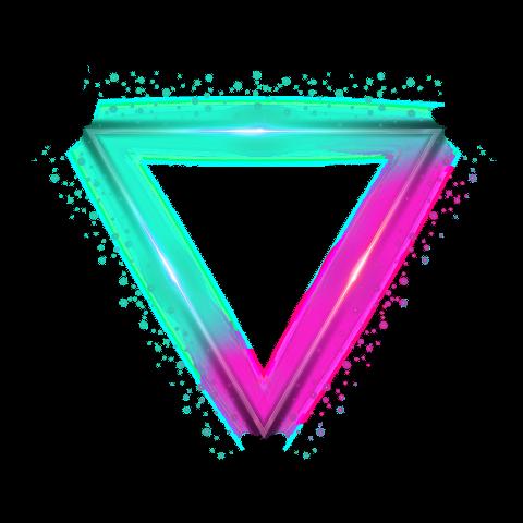 4asno4i Profiles Neon Png Picsart Triangle Tattoo
