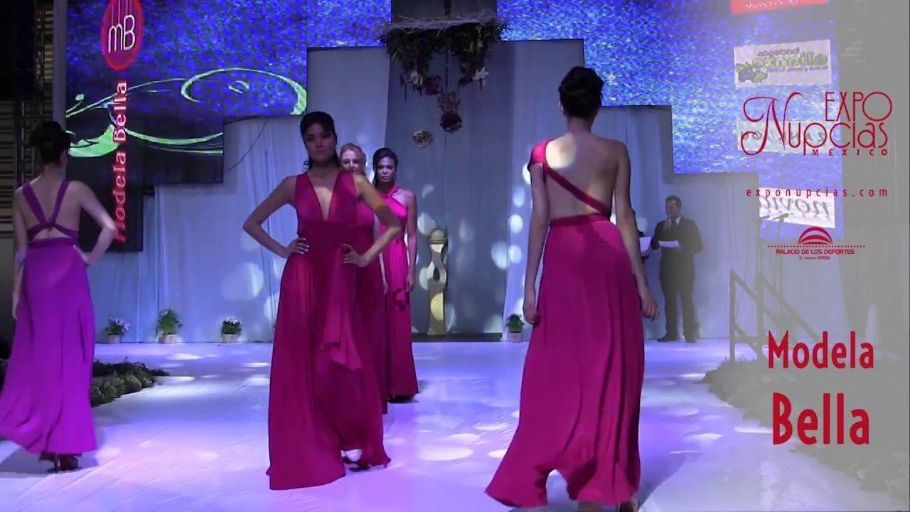 Expo Nupcias Pasarela de vestidos de noche por Modela Bella, Marzo ...