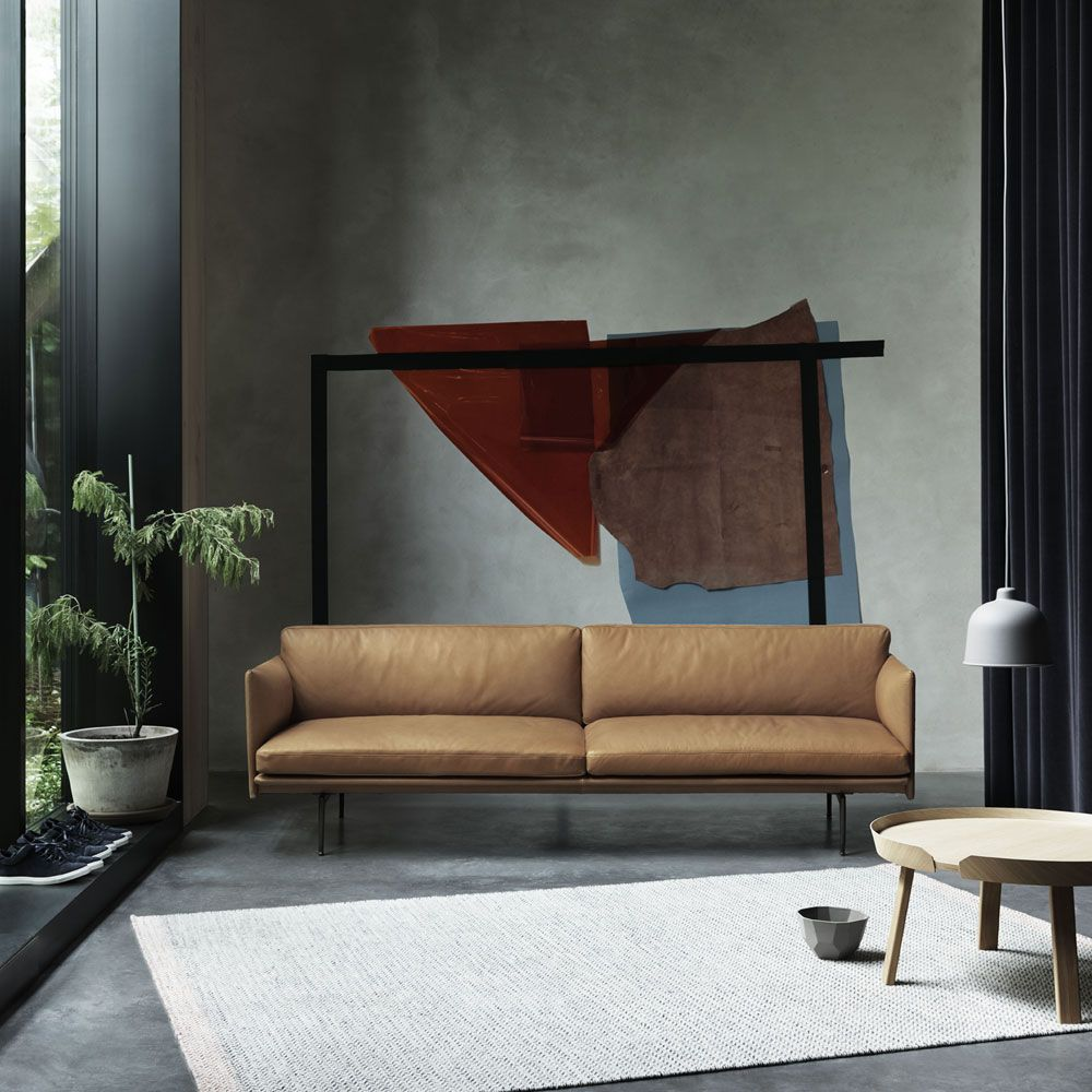 Outline Is A Rare Example Of An Elegant Sofa By Award Winning Norwegian Design Duo Anderssen Vol For Muuto