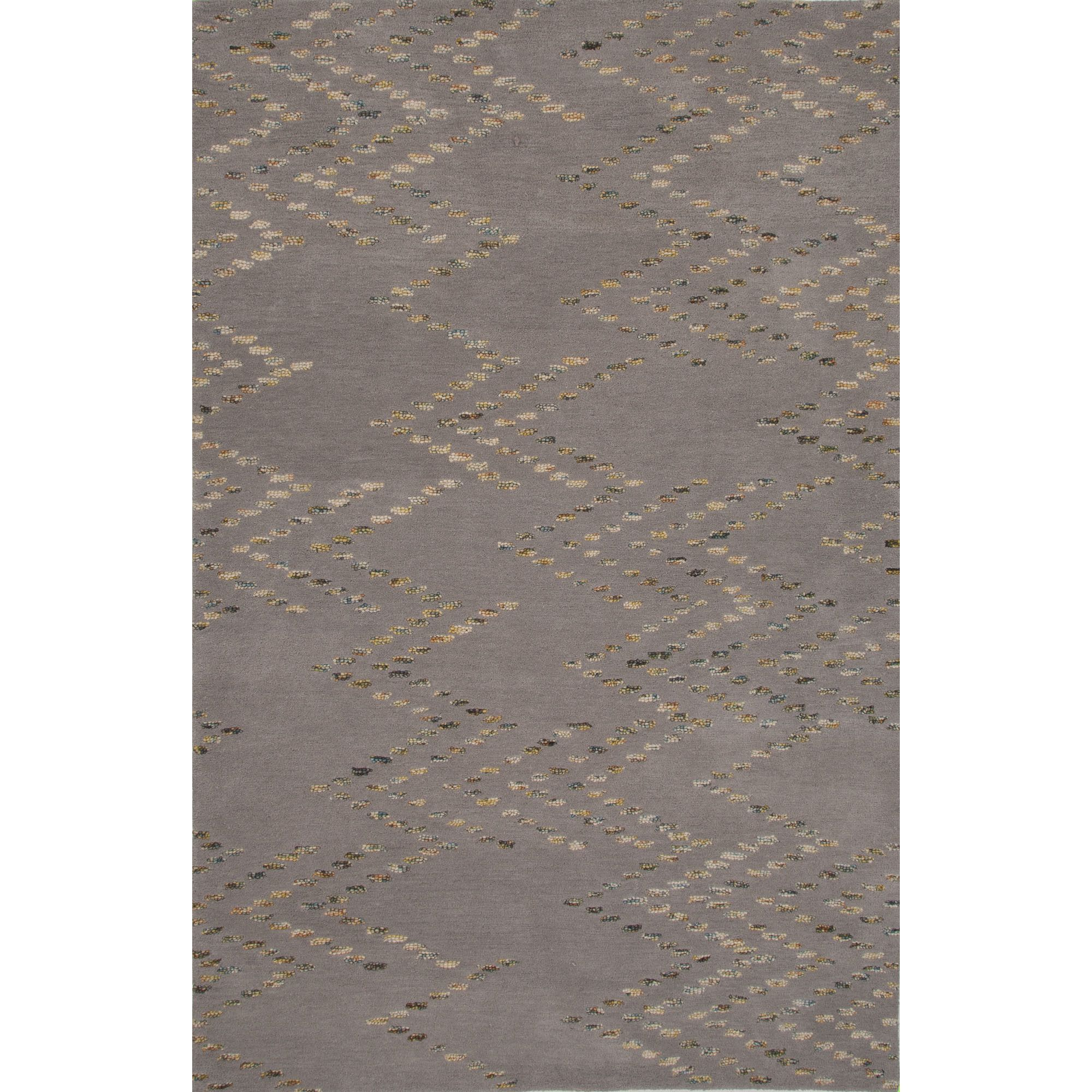 Traditions Made Modern Wool Hand Tufted Gray Area Rug