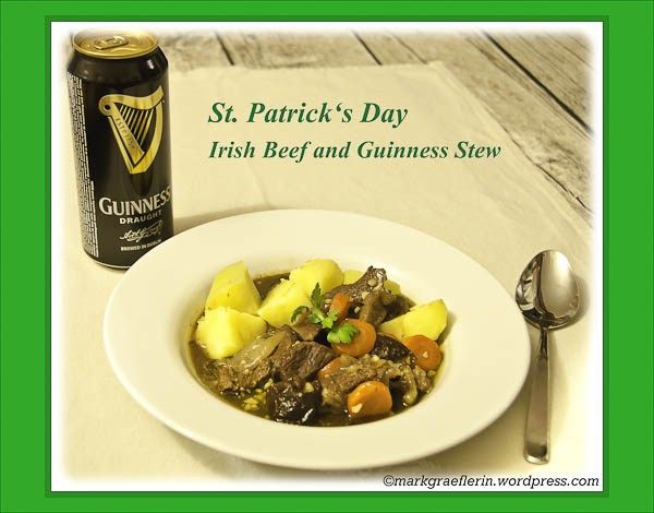 St. Patrick's Day – Irish Beef and Guinness Stew