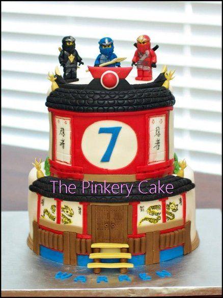 Ninjago cake  Torten  Ninjago geburtstag Kinder torten und Essen und trinken