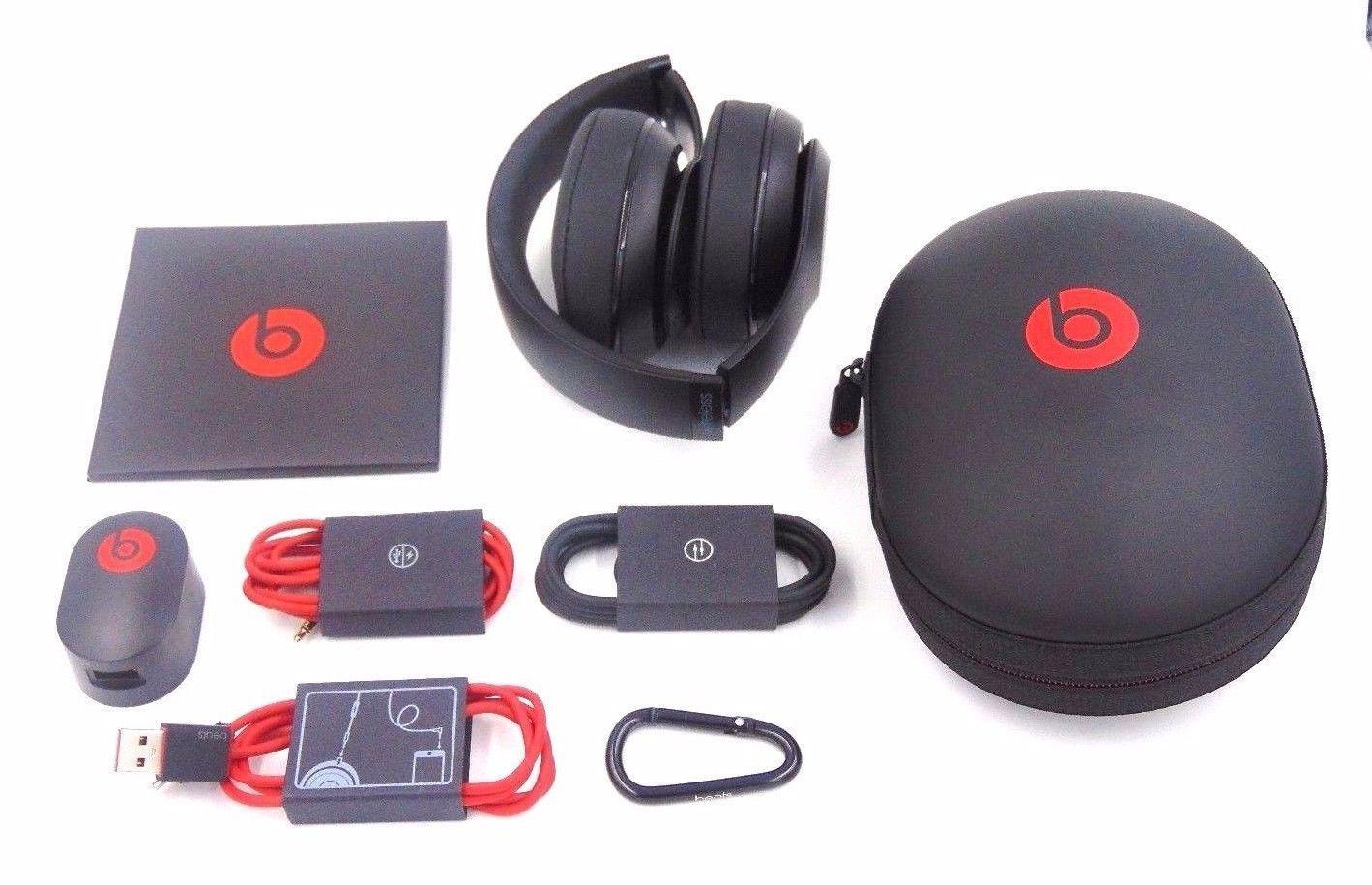 Beats by Dr. Dre Studio Wireless On-Ear Headphones -Matte Black-In Box w/ acc. https://t.co/dsoGtUnYBz https://t.co/r6yJOjRxb2
