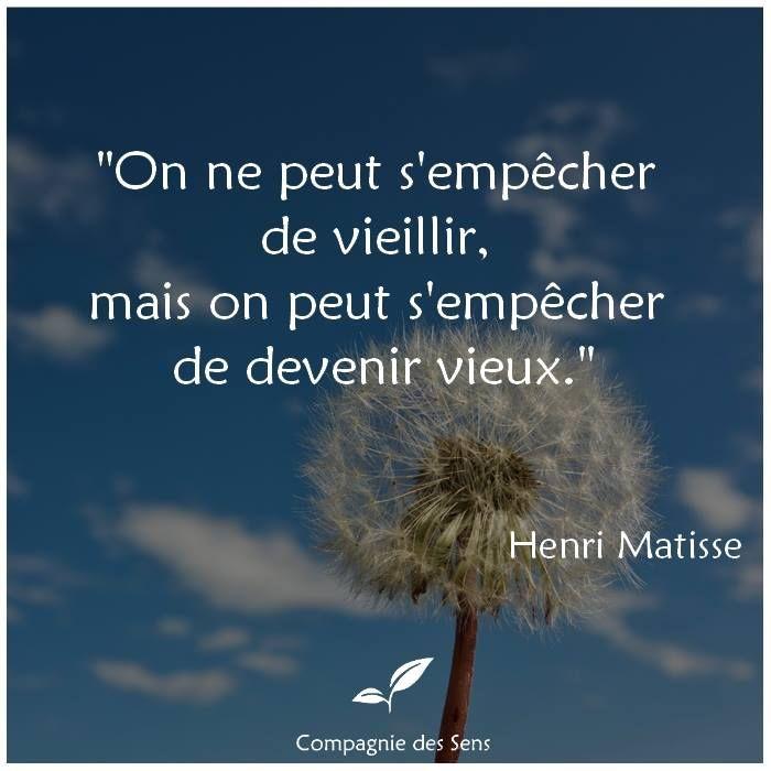 How To Cite A Quote: Citation De Matisse #quote #vieillesse
