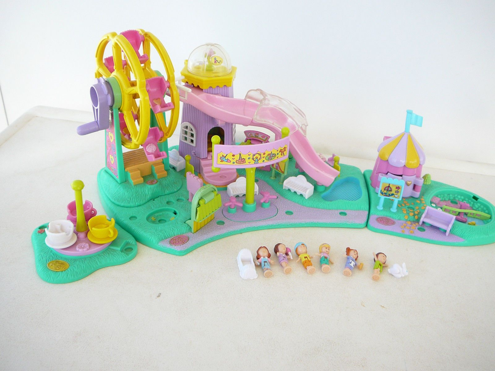 Claasic vintage toys vintage toys second shout out http www - Vintage Circus Paper Toys See More Polly Pocket 1996 Rides N Surprises Playset Aka Ferris Wheel And Tower Slide 1996