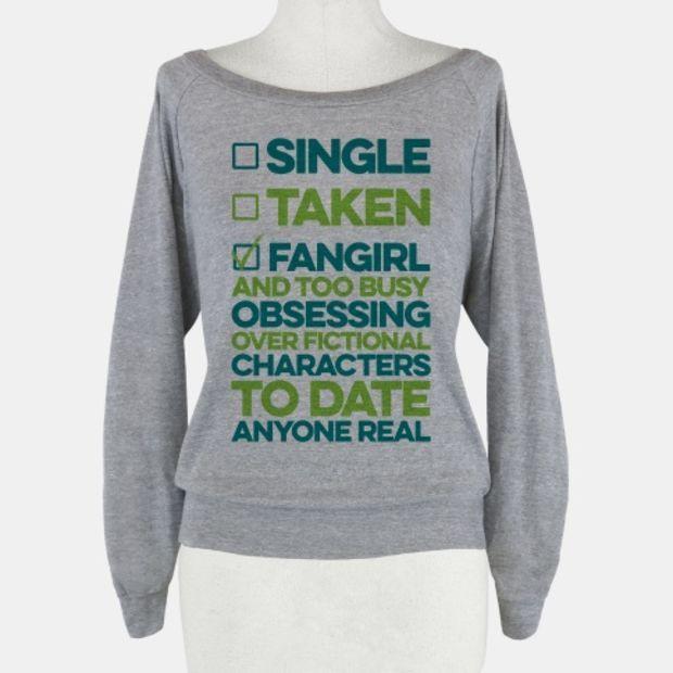 Single, Taken, Fangirl #collageboard