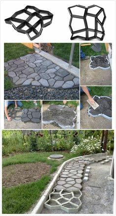 Garden Paving Concrete Mold #couponing