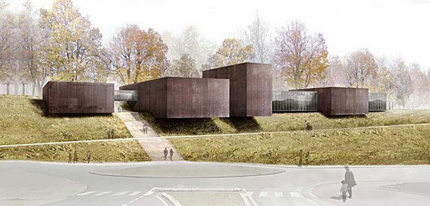 Pierre Soulages Museum Di Rcr Architects Architecture