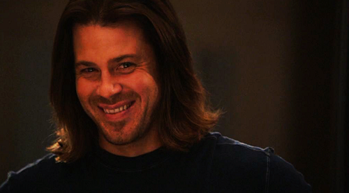Christian Kane so love that smile on his face don't know who took that photo of him.