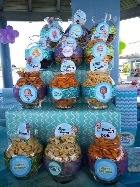 Bubble Guppies Under The Sea Birthday Party Ideas Photo 9 Of 16 Bubble Birthday Bubble Guppies Birthday Party Bubble Guppies Party
