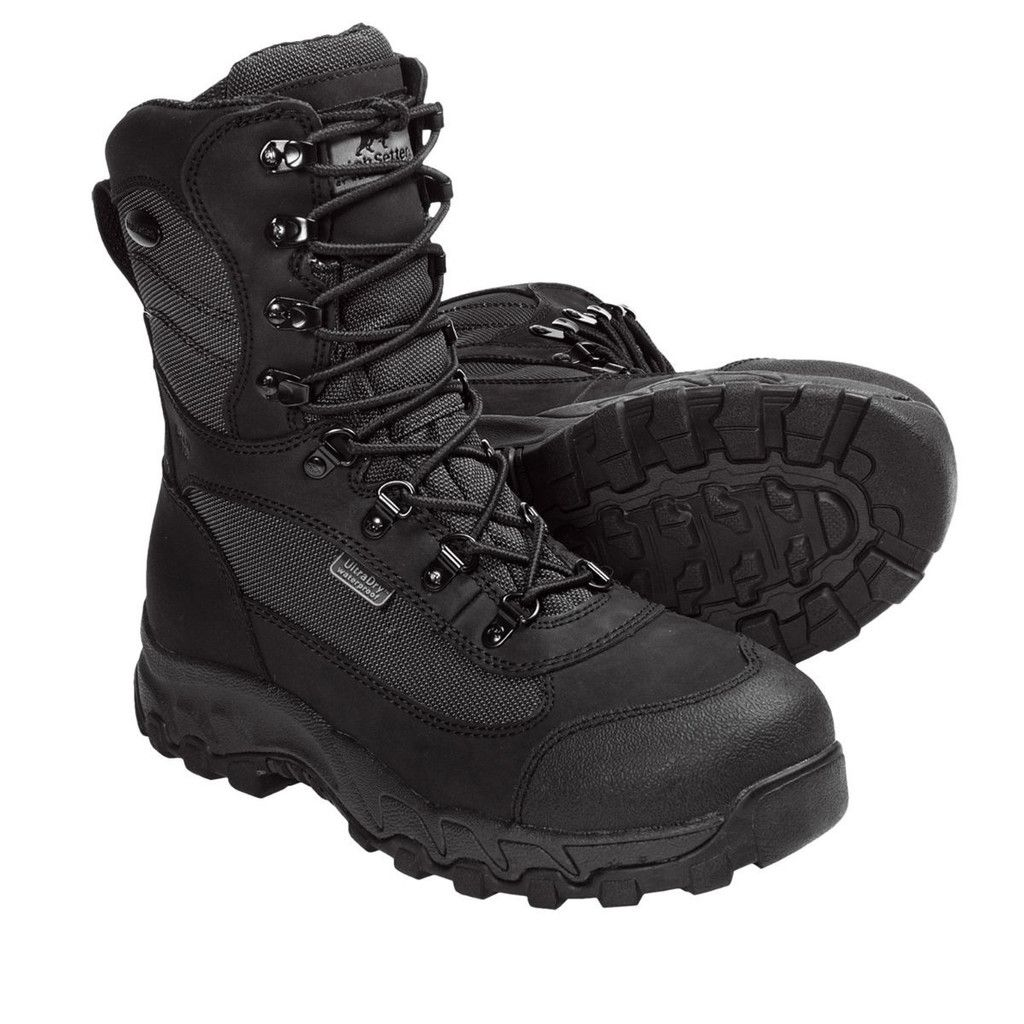 Irish Setter Trail Phantom Total Black Aluminum Safety Toe Waterproof  Hunting Boot (4841)