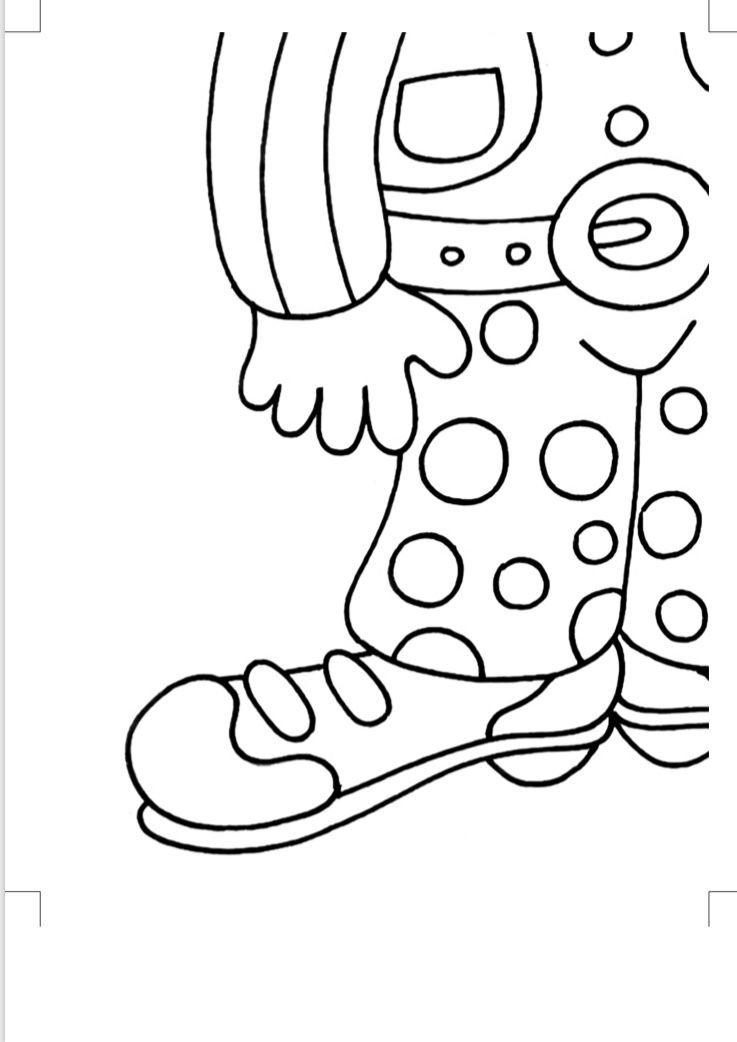 23 Nisan Tam Boy Balonsuz Palyaco Posteri Cigdem Ogretmen