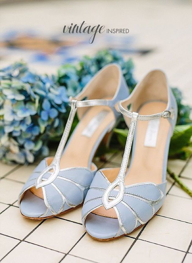 Top 20 U201cSomething Blueu201d Wedding Shoes | Bridal Musings Wedding Blog