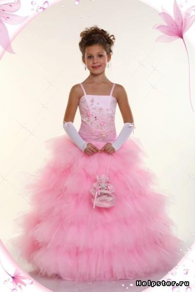 Выпускное платье для детского сада выкройки и фото