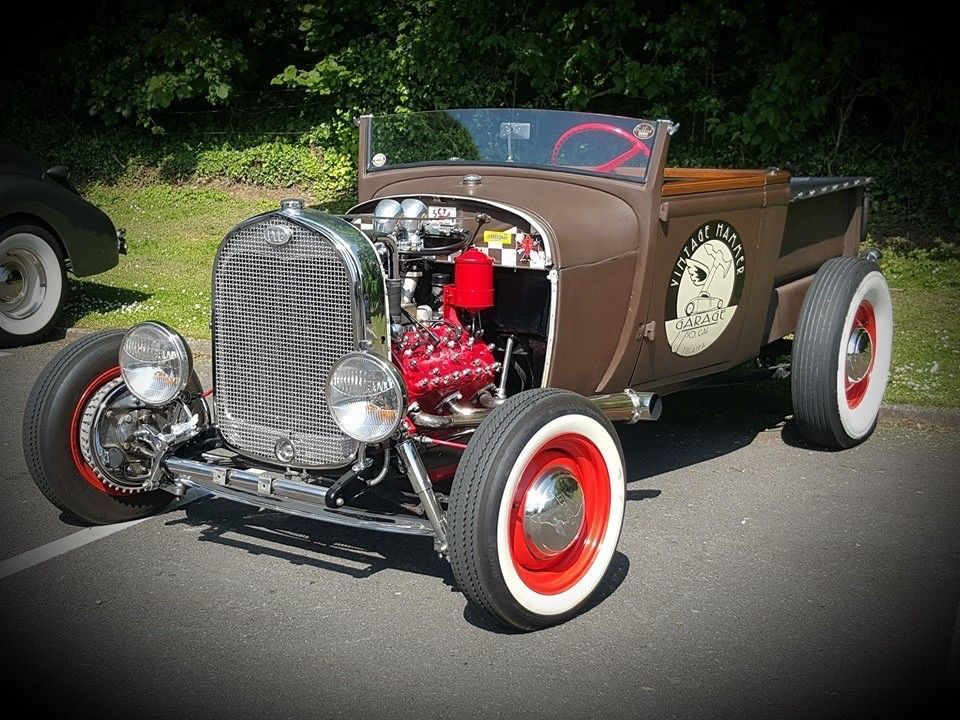 1929 Ford Model A Roadster Pickup All Steel Traditional Hotrod